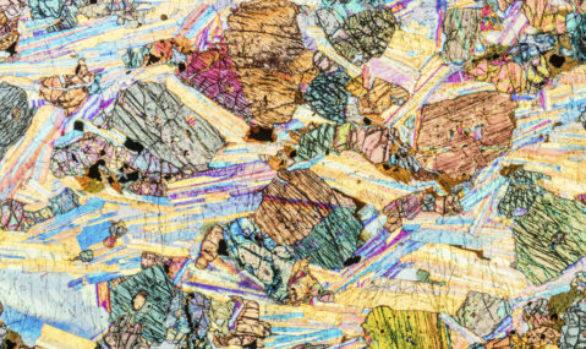 Farben der Steine - Colors of stones